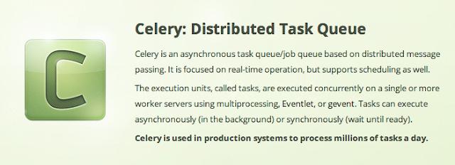用Celery 結合Redis 或RabbitMQ = 馬上開始使用Task Queue (1)