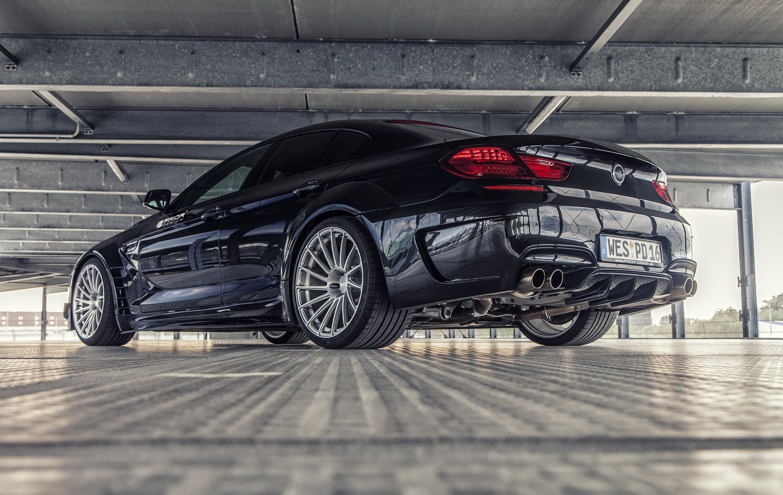 Prior Design Works Out Bmw 6 Series Gran Coupe Carscoops