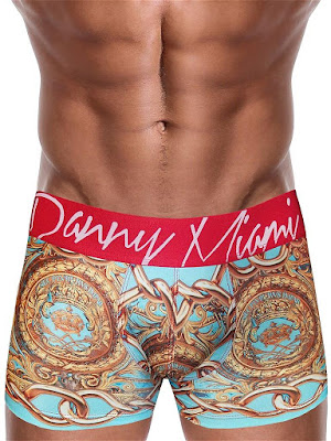 Danny Miami Lord Teal Boxer Underwear Multi Cool4guys Online Store