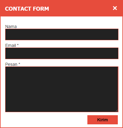 Cara Membuat Contact Form Blogger