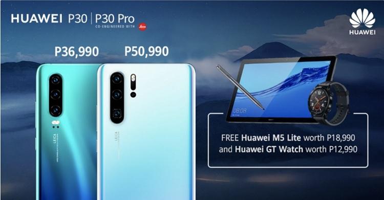Huawei Announces P30, P30 Pro Special Pre-order Promo
