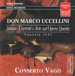 Uccellini: Sonate, Correnti e Arie Op 4, 1645