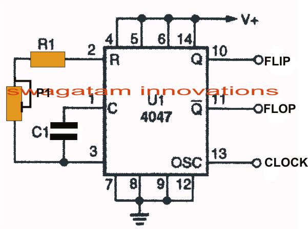 IC 4047 Datasheet, Pinouts, Application Notes