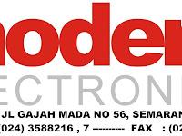 Lowongan Admin di Modern Elektronik - Semarang