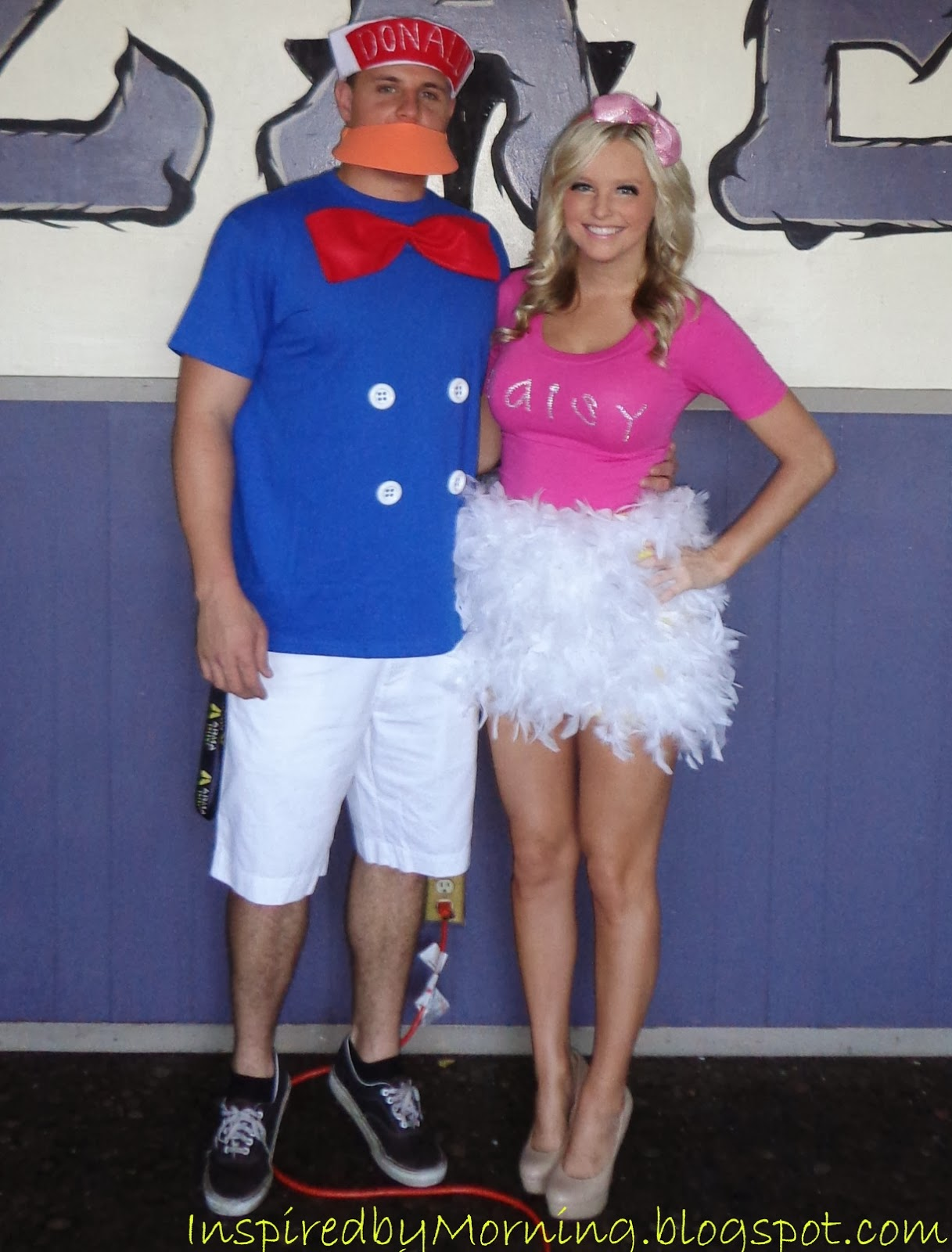 b4b92bff7d7 Saturday February 1 2014 Sc 1 St Inspired By Morning. image number 5 of donald  duck diy costume ...