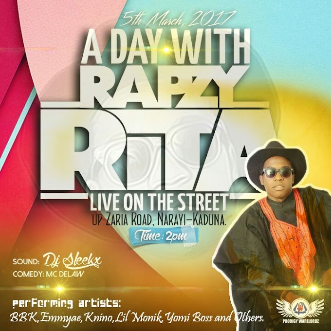 [EVENT]  A DAY WITH RAPZY RITA (5TH MARCH 2017)