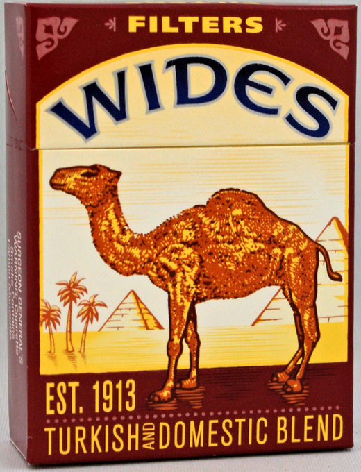 Cigarette Reviews: Cigarette Review: Camel Wides (filters)