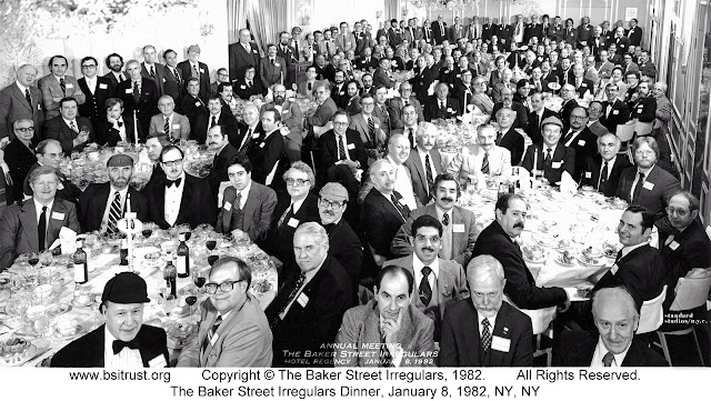 The 1982 BSI Dinner group photo