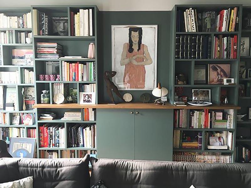 25 biblioth ques sur mesure pour trouver l 39 inspiration blog d co mydecolab. Black Bedroom Furniture Sets. Home Design Ideas