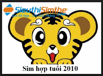 Sim hợp tuổi 2010