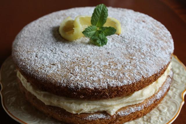 Vegan Lemon Victoria Sponge