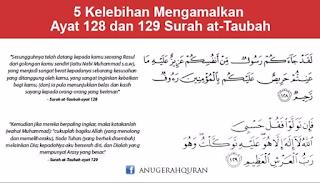 Surah At-Tawbah Verses 128-129 (Tafseer, Reading and Translation)