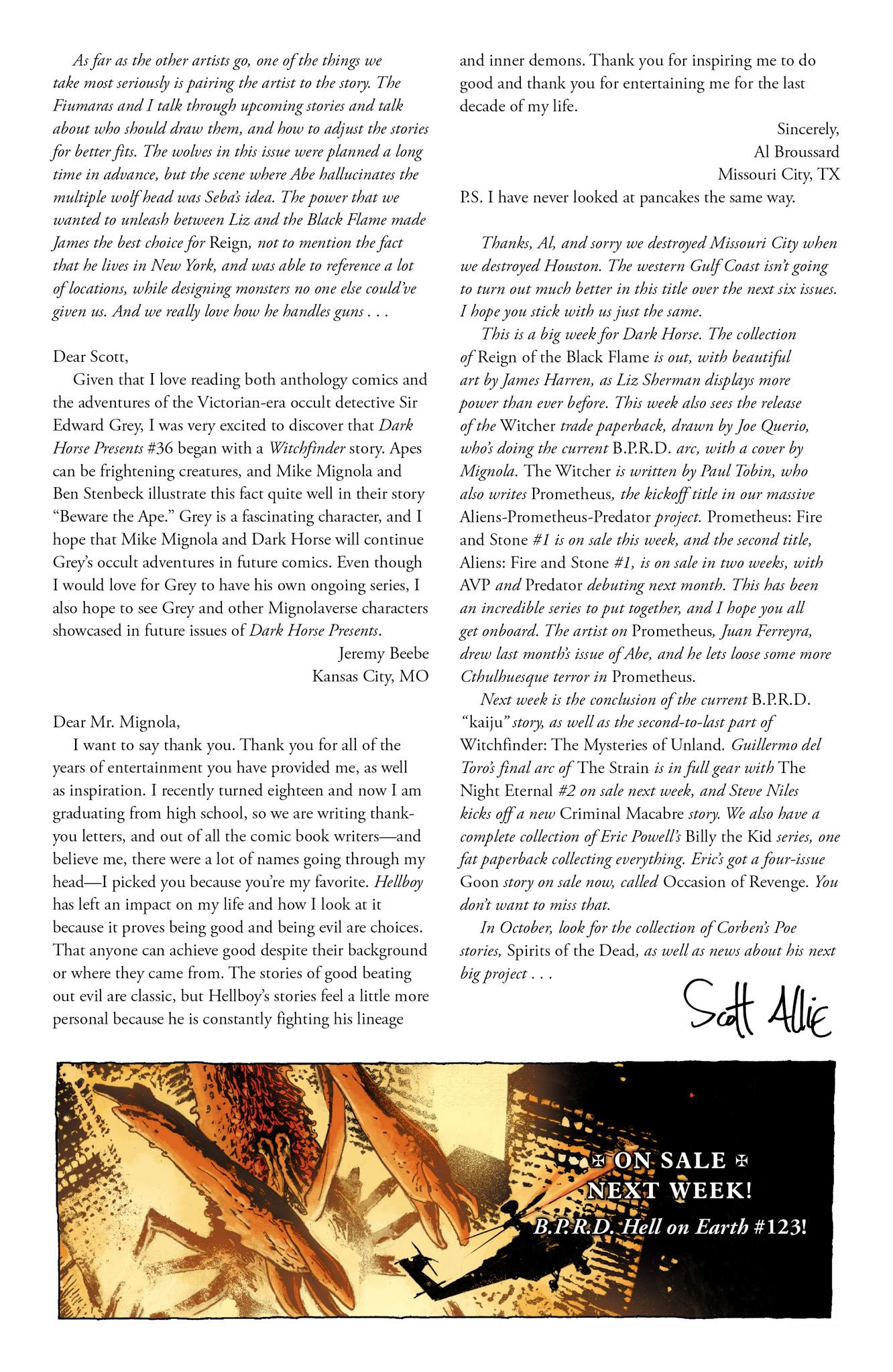Read online Abe Sapien comic -  Issue #16 - 26
