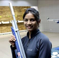 Ms. Sandhya Winfred, Ace Shooter