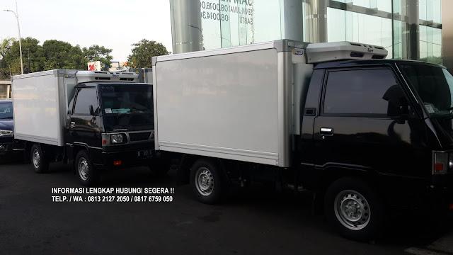 showroom mobil box freezer pendingin colt l300 2020