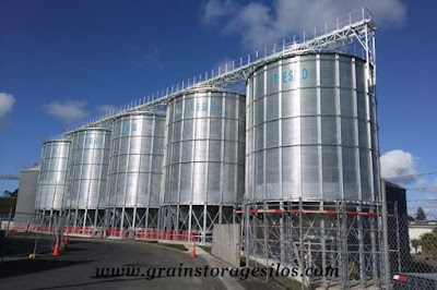 hopper bottom silos