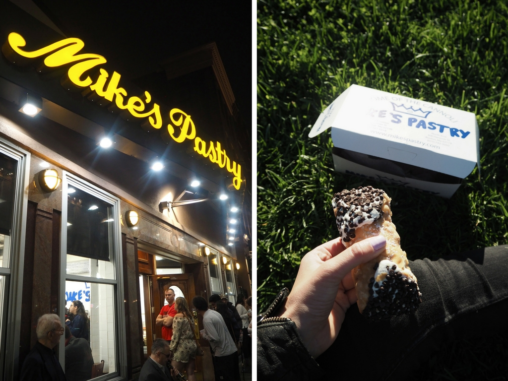 Mike's Pastry cannoli - how to spend 36 hours in Boston