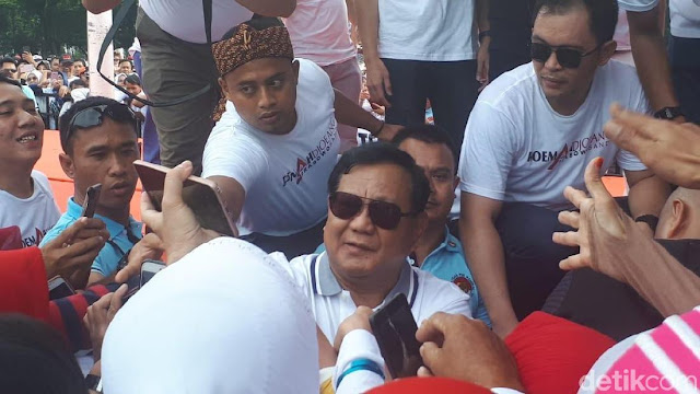 Prabowo: Sekarang Serba Pembatasan, Salah Sedikit Kita Disemprit