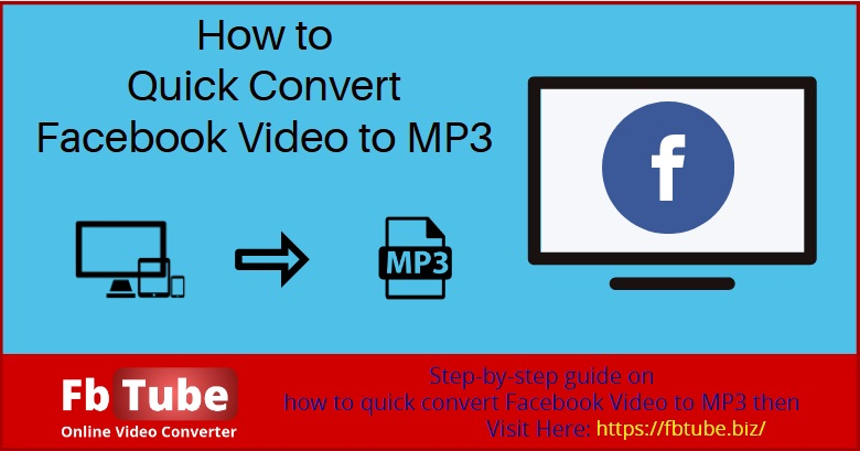 facebook video to mp3 converter free download