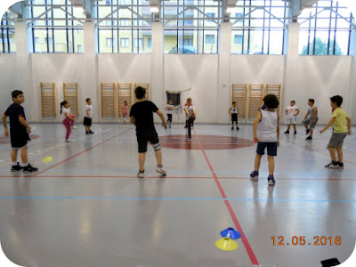 Invatam sa facem sport la Club Juniors