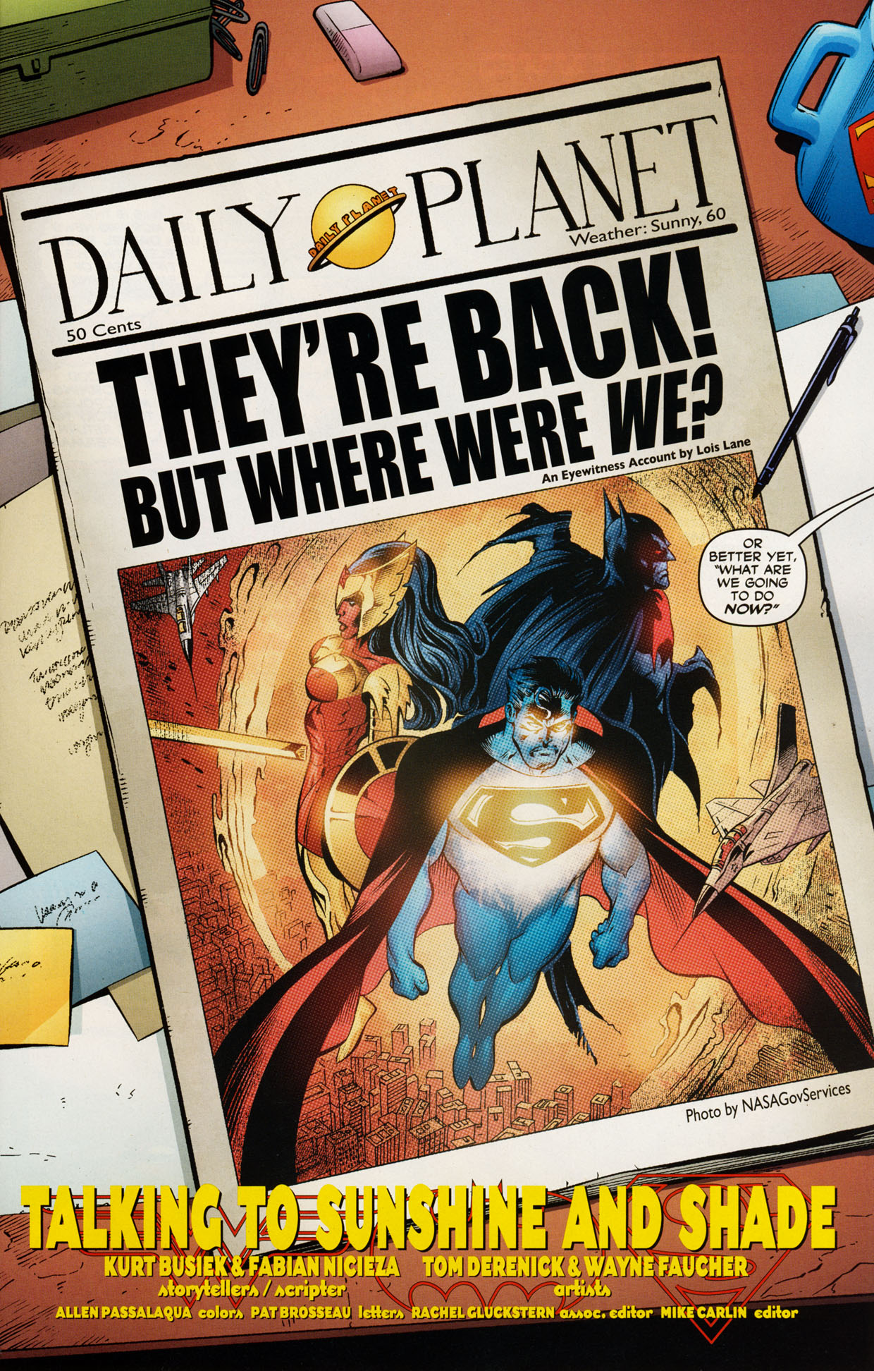 Read online Trinity (2008) comic -  Issue #43 - 18