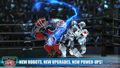 Now y'all tin play the Real Steel game characters on your android device Real Steel World Robot Boxing 3.2.43 APK