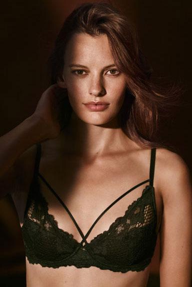 sujetador H&M colección San Valentín