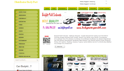 Supplier Bodypart Mobil Indonesia