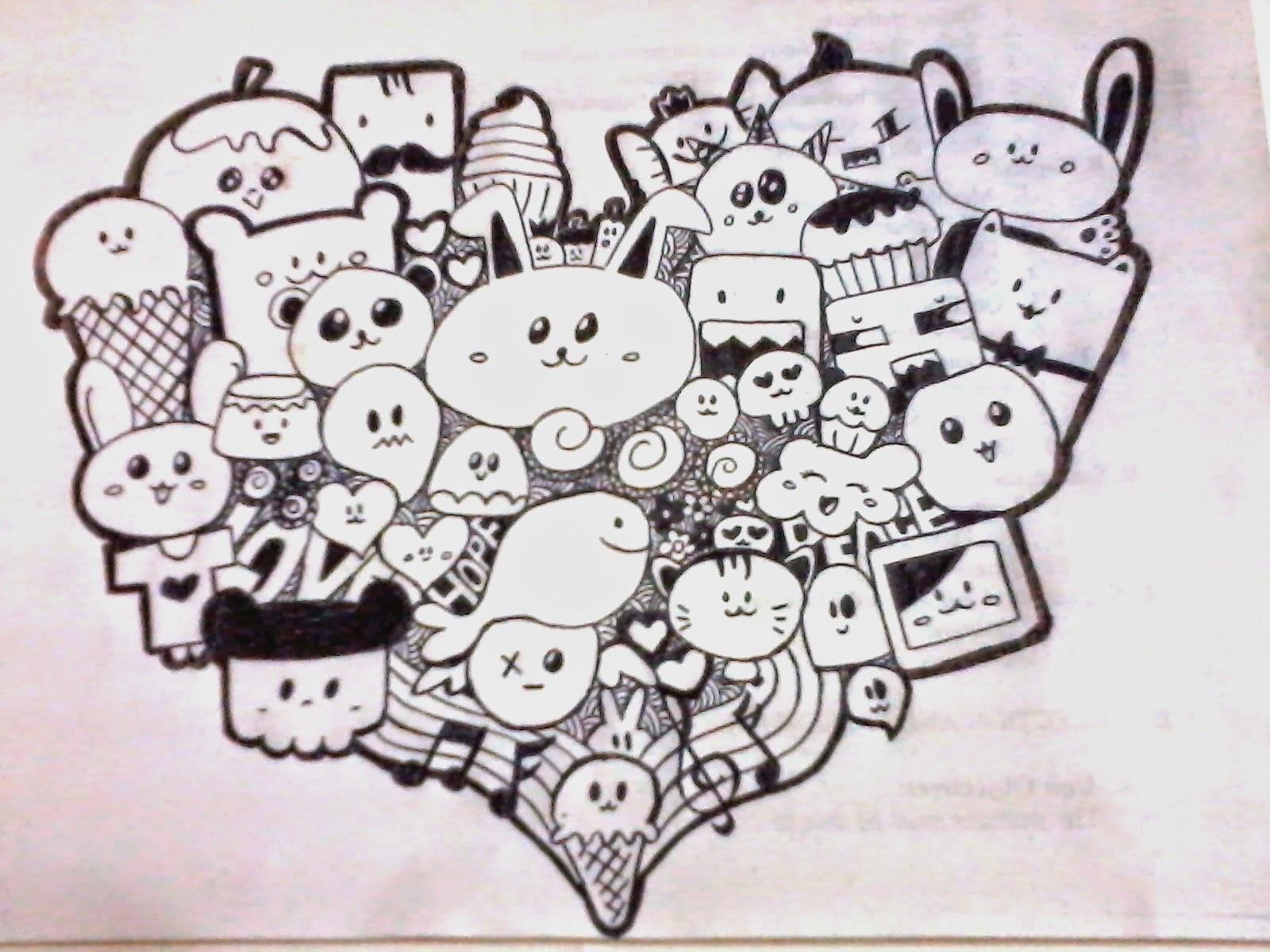Download Gambar Sketsa Animasi Doodle