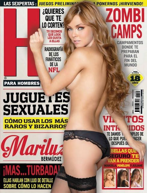 FOTOS: Mariluz Bermúdez Revista H para hombres Agosto 2013-solorevistah.com