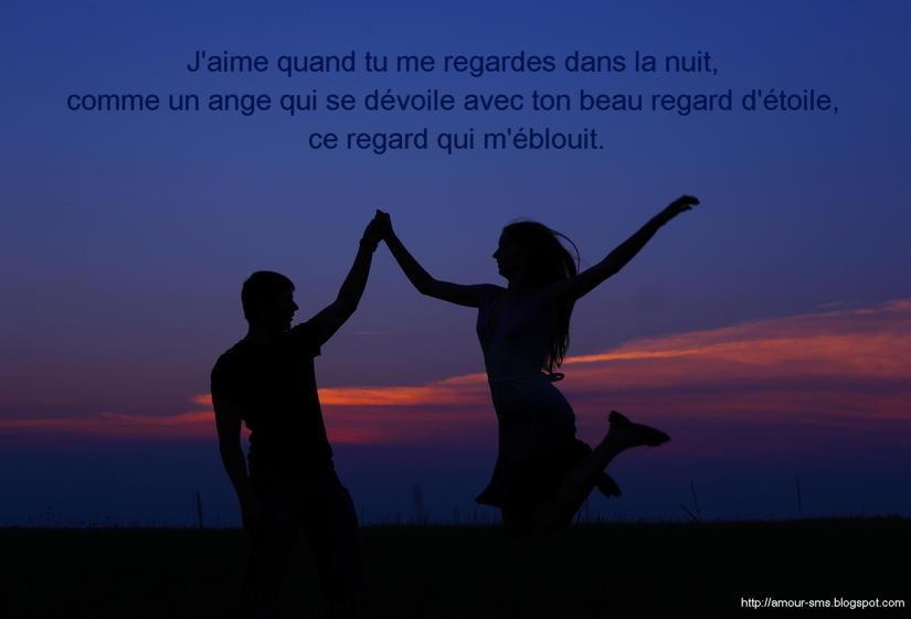 Message bonne nuit mon amour sms d 39 amour for Nuit en amoureux