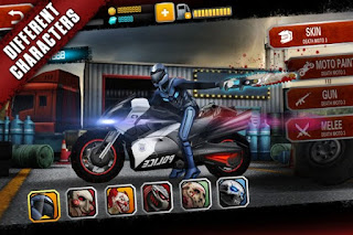 Death Moto 3 Mod Apk Free Download Unlimited Money + Gems For Android