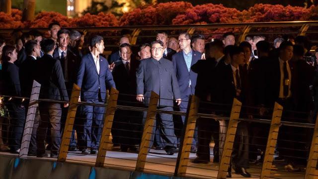 Todo listo en Singapur para la reunión entre Trump y Kim
