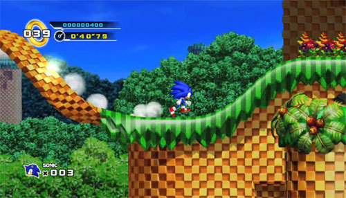 Review Sonic The Hedgehog 4 Episode 1 Xbox 360 Digitally Downloaded