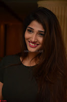 Priya Vadlamani super cute in tight brown dress at Stone Media Films production No 1 movie announcement 060.jpg