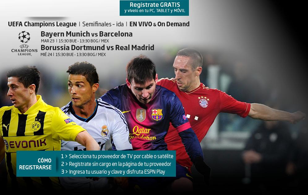 Image Result For Vivo Borussia Dortmund Vs Barcelona En Vivo Ucl