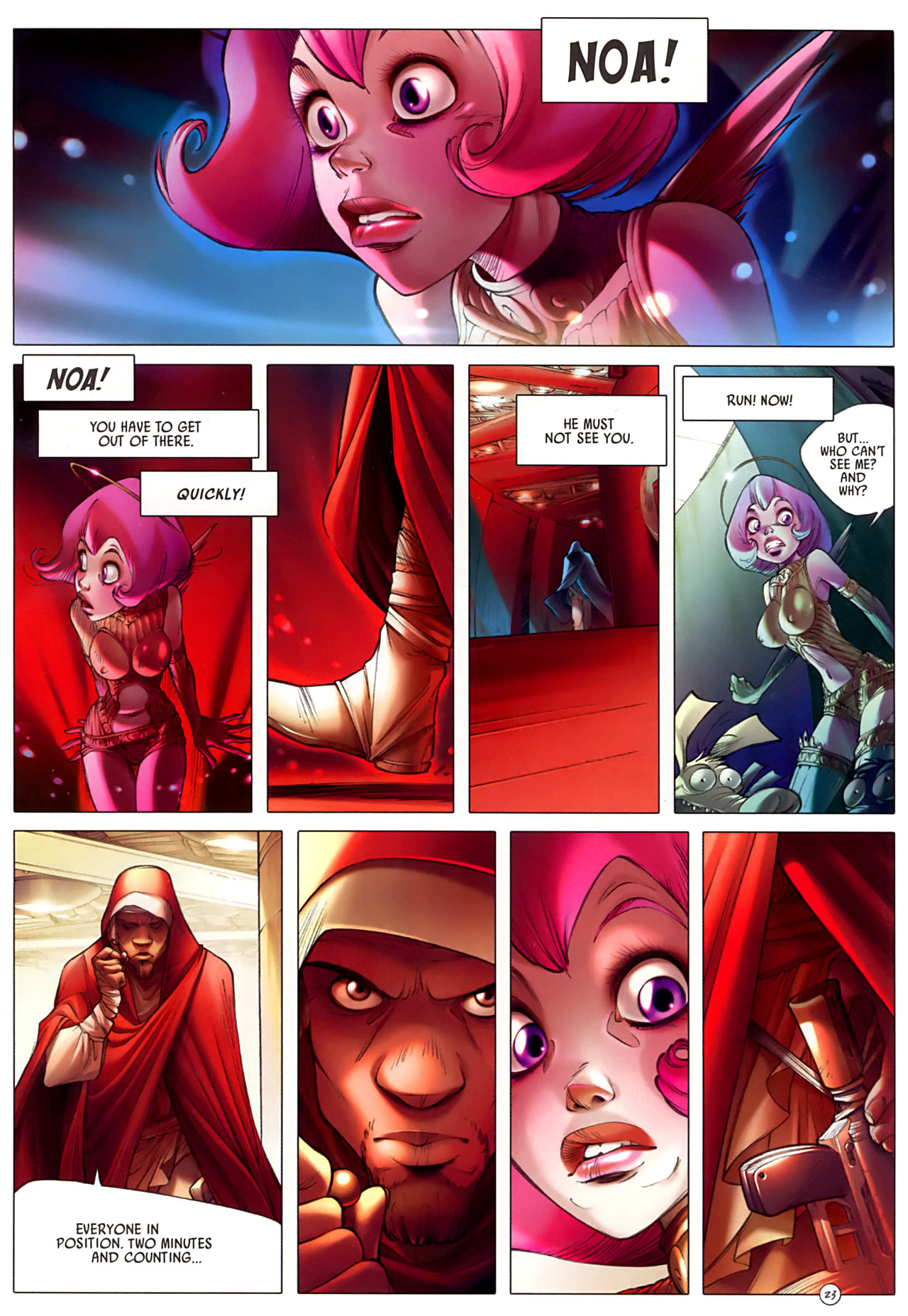 Read online Sky Doll comic -  Issue #3 - 27