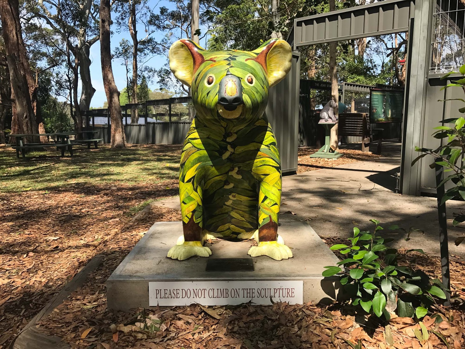 hello koalas sculpture trail