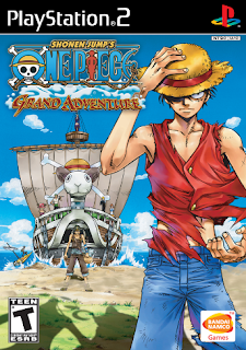 Download One Piece Grand Adventure PS2/PCSX2 ISO Ukuran Kecil For Android