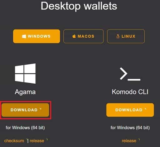 Tutorial Guía Wallet Monedero Agama Komodo KMD