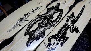 ロングボードラリー クロコダイル フリースタルロングボードシリーズ