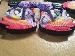 sendal sancu, sandal sancu, poni ungu