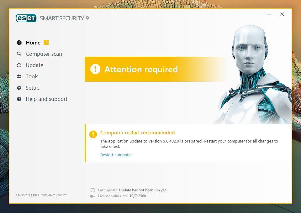 eset smart security 9 installation