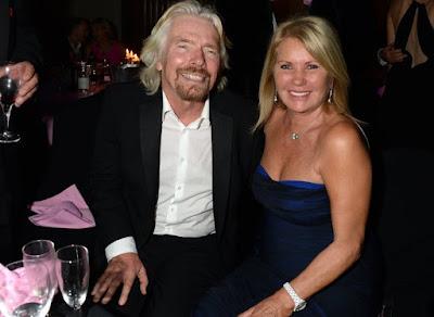 Richard and Joan Branson