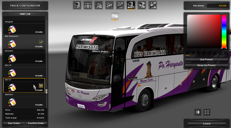 Mod Jetbus 2 HD - Po Haryanto
