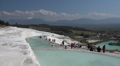 Pamukkale Cotton Castle Water Pool