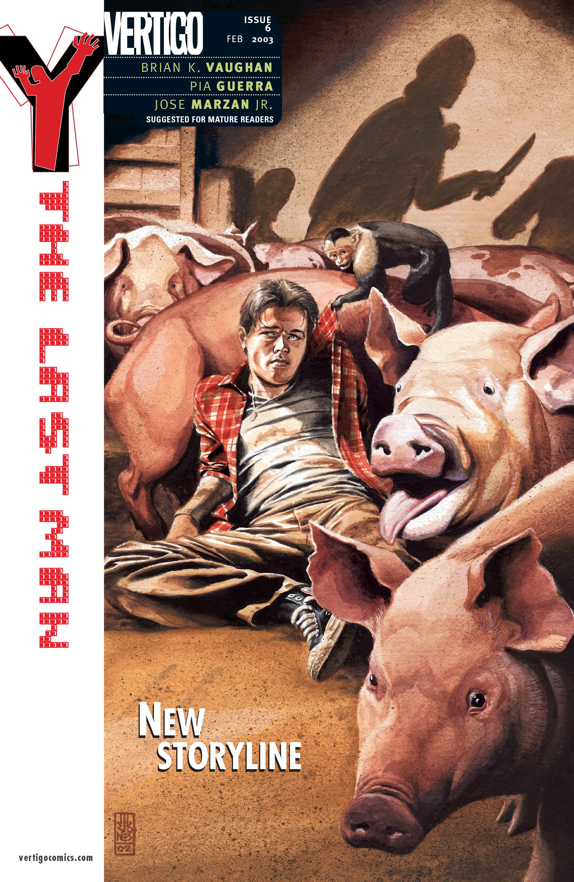 Y: The Last Man (2002) 6 Page 1
