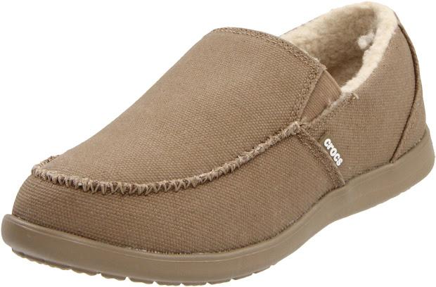 Crocs Shoes Men' Santa Cruz Lounger Slip