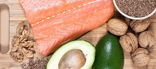 alimentación sana contra el acné