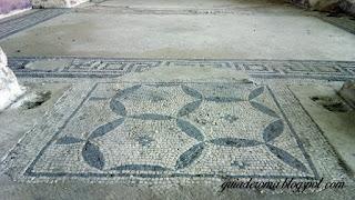Mansao De livia mosaicos geometricos - A Mansão de Livia
